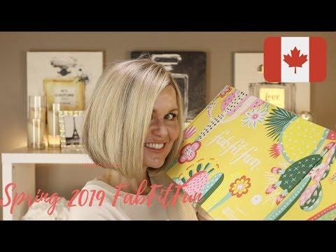 Spring 2019 FabFitFun Unboxing - Canada