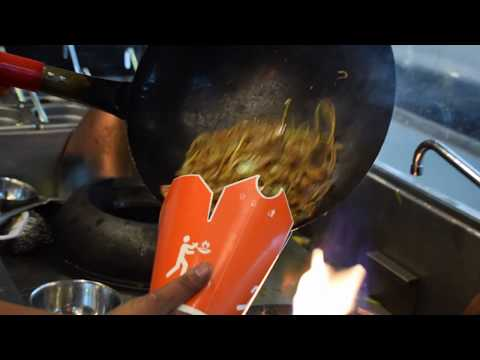 Street Noodles, Street Food Fiery Chow Mein, Most Satisfying Food Video, Best Food, Wok to Walk