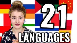 Dieses Mädchen spricht 21 Sprachen