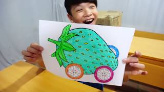 Hunter Kids Go To School Learn Colors Strawberry Driving | Classroom Funny Nursery Rhymes