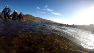 Introducing my 7 year old son to hiking in the Mourne Mountains from Carrick Little