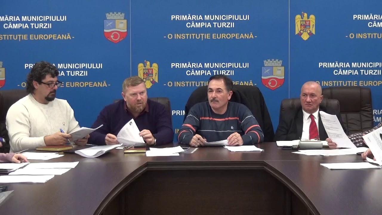 Ședință de îndată a Consiliului Local Câmpia Turzii (14.12.2018)