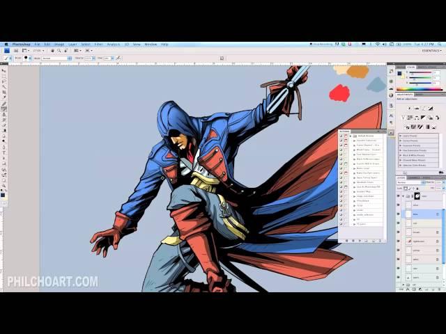 DBH Assassins Creed Unity Design Contest Time Lapse