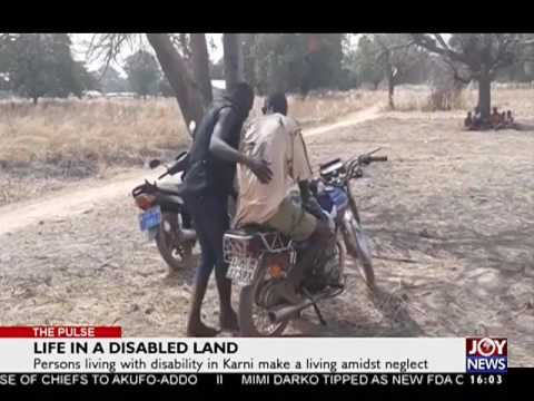 Life in a disabled land - The Pulse on Joy News (8-2-17)
