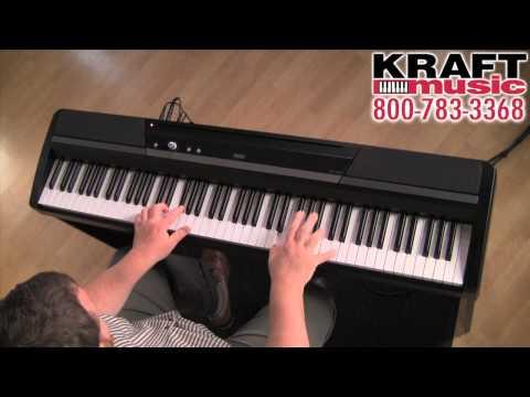 Kraft Music - Korg SP-170s Digital Piano Demo