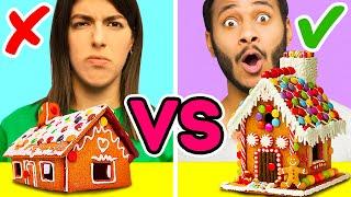 36個營造聖誕氛圍的方法|| 薑餅屋挑戰