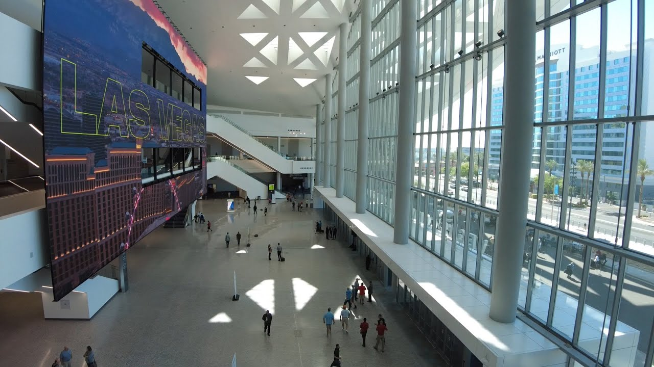Las Vegas Convention Center West Hall Opening Ribbon cutting June 8, 2021