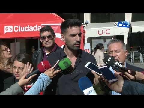 Ciudadanos cierra campaña como la solución a los problemas de Ceuta en Madrid