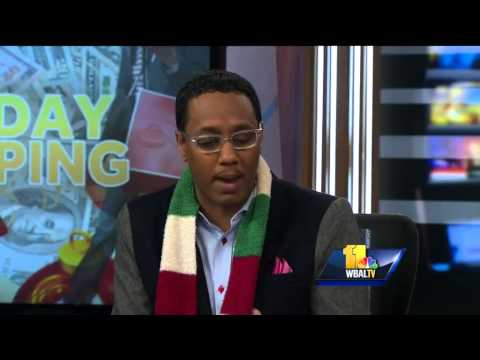 Mario Armstrong Visits WBAL TV With Best Shopping Apps