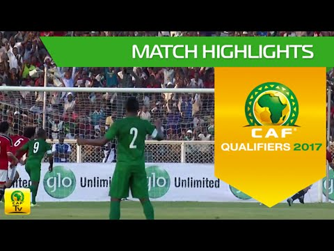 Nigeria vs Egypt | Africa Cup of Nations Qualifiers 2017