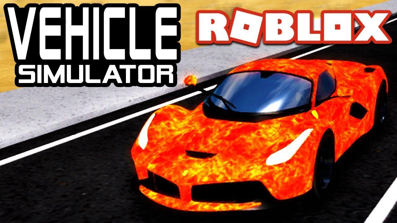 Roblox Vehicle Simulator Best Car Color Custom Car Skins In Vehicle Simulator Roblox Youtube