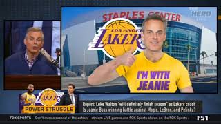 The Herd   Report  Luke Walton  will definitely finish season  as Lakers coach