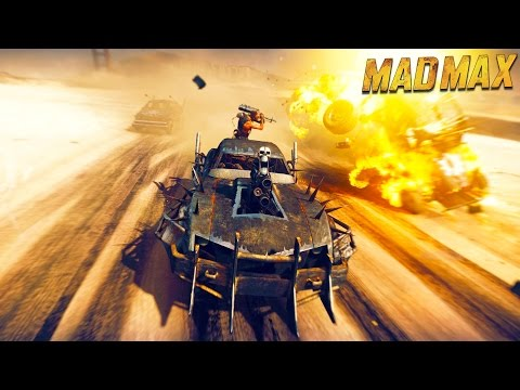 MAD MAX: Attacking The Bases! Walkthrough Part 6 - Mad Max Let's Play Live Stream