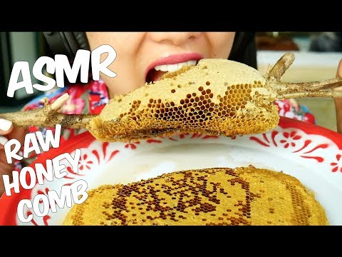 ASMR Raw Honey Comb (EXTREME STICKY EATING SOUNDS) No Talking | SAS-ASMR