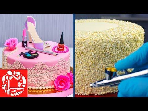 Как делать тортики