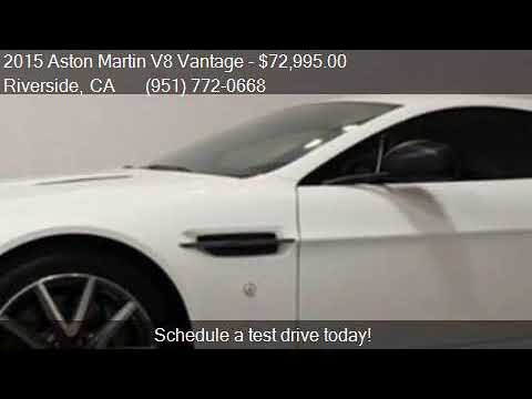 2015 Aston Martin V8 Vantage Gt 2dr Coupe For Sale In Rivers Youtube