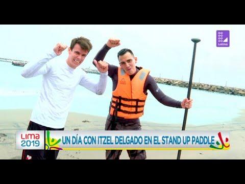 Un día con Itzel Delgado en el stand up paddle - Lima 2019