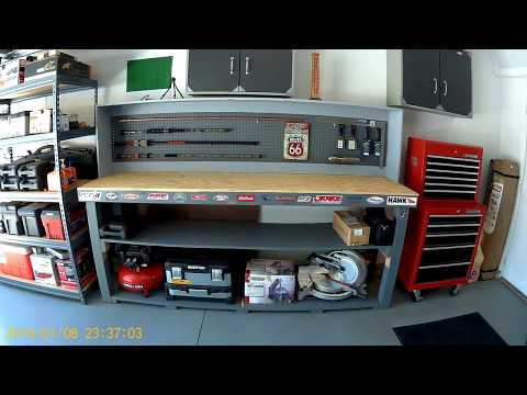 My Dream Garage!! Mancave,Toolbox/Garage Tour!