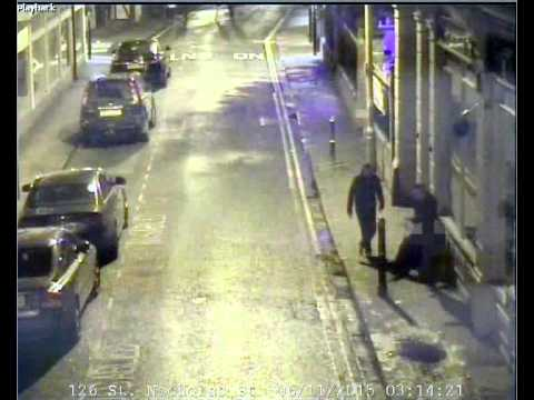 CCTV footage released of Worcester assault