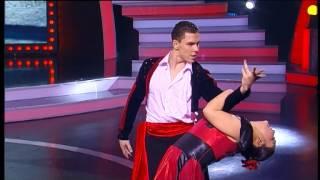 """Шоу """"Танцуй! Танцуй!"""" выпуск №13 (Жазира Искакова и Дмитрий Склифов,Т6) второй танец"""