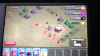 First clash of clans vid BK over powered