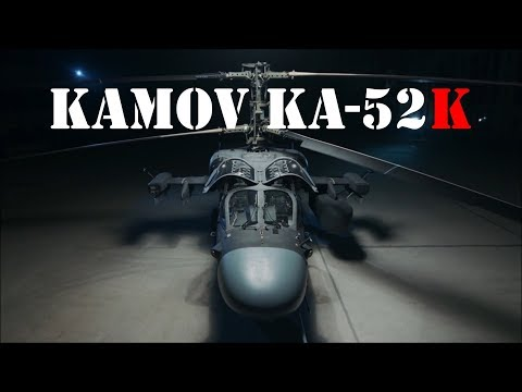 KAMOV Ka-52 KATRAN: WALK-AROUND [HD1080p]