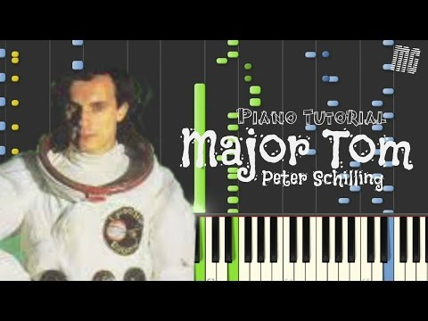 Peter Schilling - Major Tom - Synthesia | Piano Cover / MG