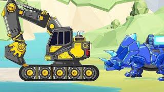 Apatosaurus   Combine! Dino Robot Dinosaur Puzzle | Eftsei Gaming