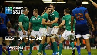 Ireland's best Rugby World Cup 2015 moments