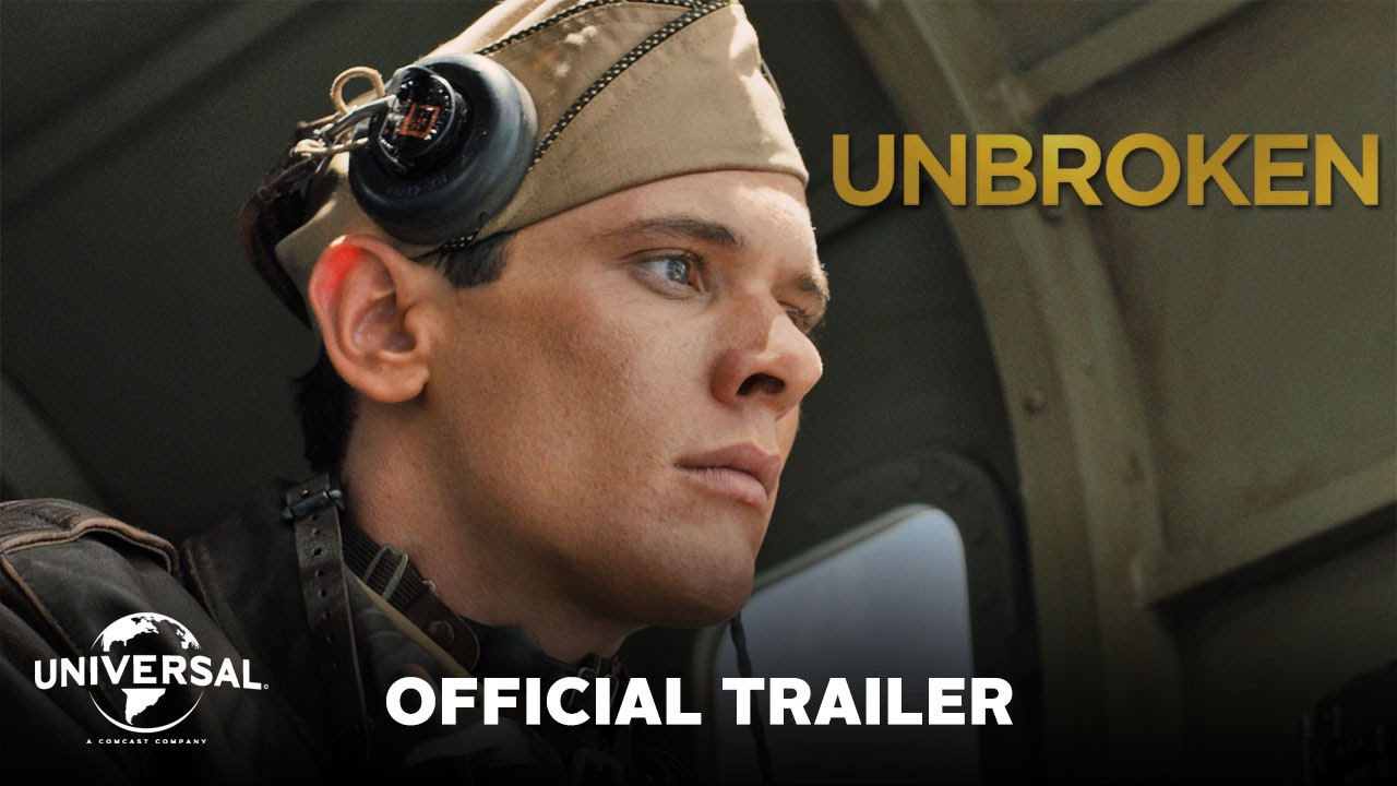 画像: Unbroken - Official Trailer (HD) youtu.be