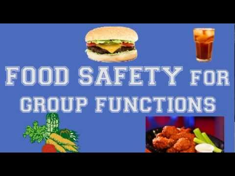 Proper Food Handling / Safety Techniques