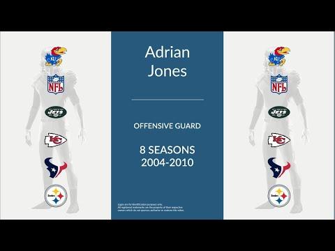 Adrian Jones: Football Offensive Guard