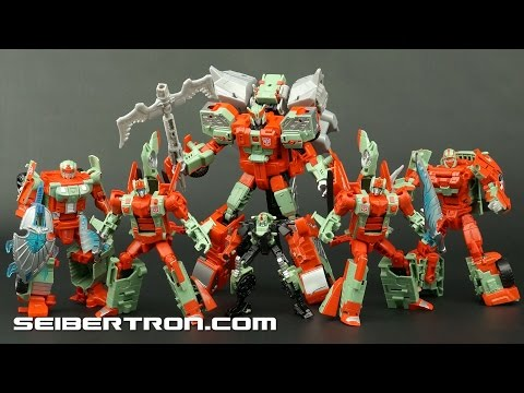 Video review of Transformers Combiner Wars Victorion and Rust Renegades