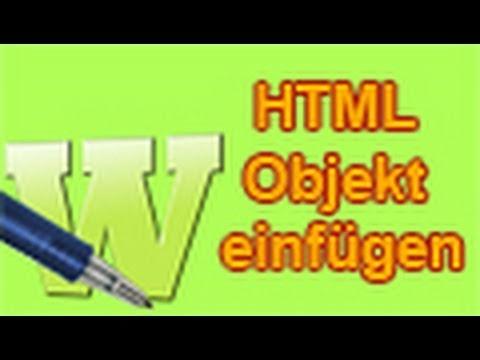 MAGIX Web Designer - HTML Objekt Einfügen [German/Deutsch] Tutorial [HD/720p]