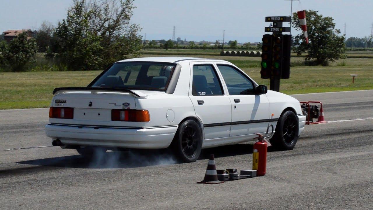 570 HP Ford Sierra Cosworth DRAG races