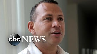 'A-Rod' Alex Rodriguez talks about JLo, family, past regrets