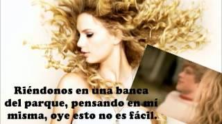 Taylor Swift - You Belong With Me (Traducida al español)