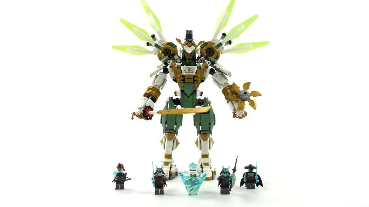 2019 Lego Ninjago Set 70676 Lloyds Titan Mech Review Deutsch Youtube