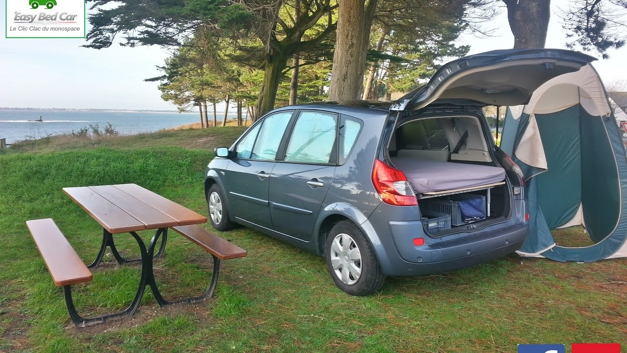 am nager son renault sc nic en mini camping car youtube. Black Bedroom Furniture Sets. Home Design Ideas