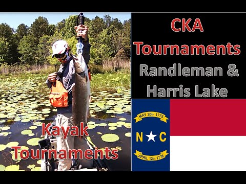 2015 CKA Kayak Bass Fishing Tournaments Randleman Resavoir And Harris Lake