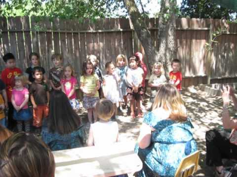 The Children's Academy Montessori Preschool Mother's Day Tea Performance 2012
