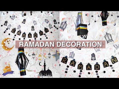 DIY Ramadan Decoration | Ramzan Ki Tayari