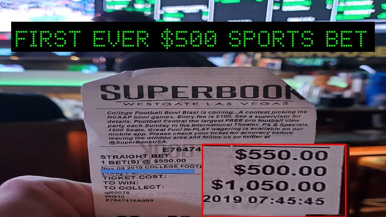 First sport to ever be bet on sports betting ri