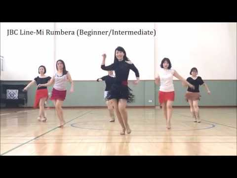 Mi Rumbera Line Dance(Angels H. Guix 'Chalky' & Enric Nonell) Demo & Tutorial