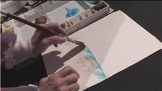 Watercolor Painting : How to Paint Ocean Waves