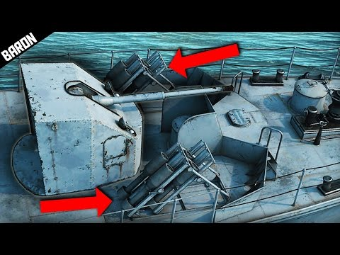 Russian Jet Powered Naval Bombs - War Thunder Ships Gameplay
