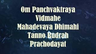Shiva Gayatri Mantra (Tanno Rudrah Prachodayat)   with English text