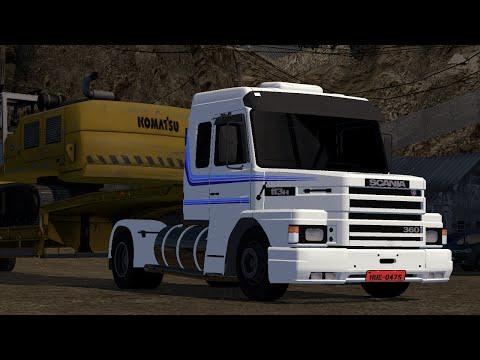 Scania 113H   Euro truck simulator 2   1.10.1 -- 1.12