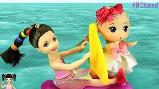 Thơ Nguyễn chơi game cuộc phiêu lưu của búp bê trên đảo hoang tập 2