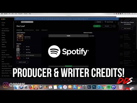 Spotify Adds Producer & Writer Credits To Songs!